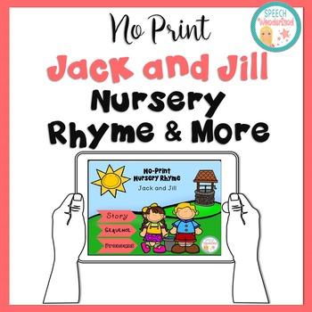 NO PRINT Jack & Jill Nursery Rhyme