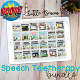 20% OFF NO PRINT NO PREP Speech Teletherapy Bundle