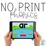 NO PRINT Phonics - AR Controlled Vowel Interactive PDF