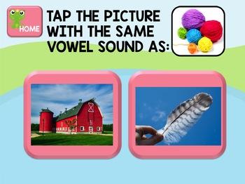 NO PRINT Phonics - AR Controlled Vowel Interactive PDF
