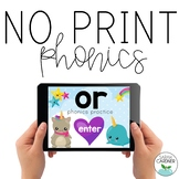 NO PRINT Phonics - OR Controlled Vowel Interactive PDF