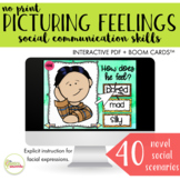 NO PRINT Picturing Feelings & Emotions Social Skills with