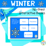 NO PRINT Preschool Language Kit: Winter (Distance Learning)
