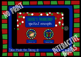 NO PRINT Santa's Workshop Interactive Book - Spatial Concepts