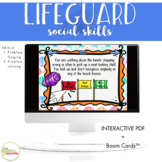 NO PRINT Save the Day Social Skills Activity Teletherapy & On-The-Go
