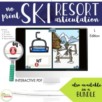 NO PRINT Ski Resort Articulation Pack - L Edition