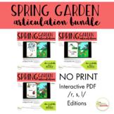 NO PRINT Spring Garden Articulation /R, S, & L/ BUNDLE