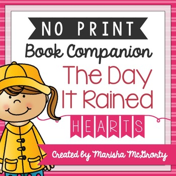 NO PRINT The Day It Rained Hearts {Book Companion}