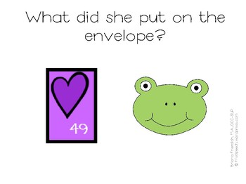 NO PRINT Valentine's Day Simple Story Interactive WH-Questions
