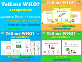 Who Questions: Occupations *Adapted Interactive Book* 3 FORMATS