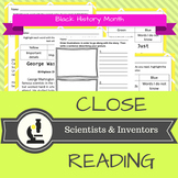 NO Prep Close Reading Black History Month - Scientists and