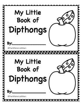 NO Prep Diphthong Bundle (au, aw, ew, oi, oy, oo, ou, ow)