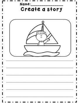 *NO Prep* Kindergarten Emergency Sub Plan Activity Set