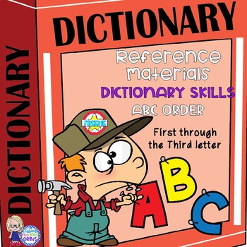 Print Go Grade Third Grade Reference Skill Practice Dictionary ABC