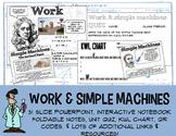 No Prep Work & Simple Machines PowerPoint Interactive Note