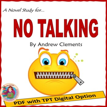 No Talking By Andrew Clements A Novel Study Tpt