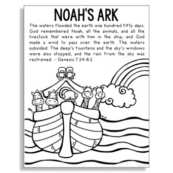 Noahs Ark Coloring Pages - Best Coloring Pages For Kids | 350x350