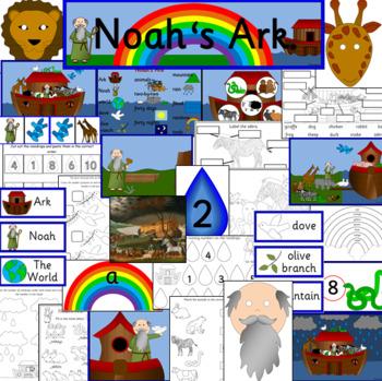 NOAH'S ARK bible unit learning pack