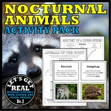 NOCTURNAL ANIMALS ACTIVITY PACK