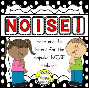 NOISE! Black/White Polka dot (FREEBIE)