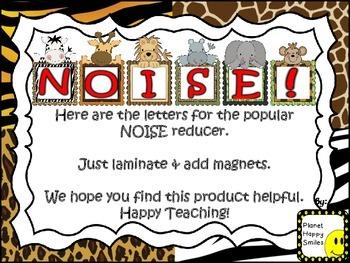 NOISE! Jungle/Safari Theme (FREEBIE)