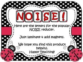 NOISE! Ladybug Theme (FREEBIE)