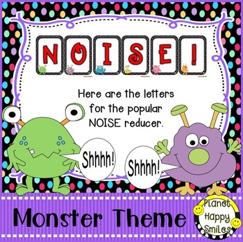 NOISE! Monster Theme (FREEBIE)