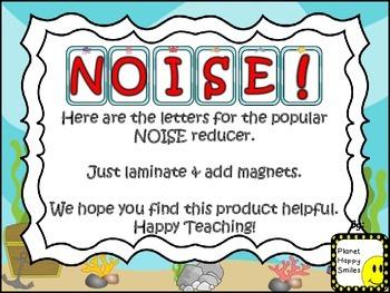 "NOISE! ""Under the Sea"" Ocean Theme (FREEBIE)"