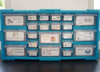NON-EDITABLE 22 Drawer teacher Toolbox Labels