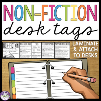 NON FICTION DESK TAGS