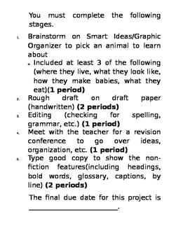 NON-FICTION article project