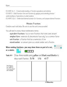 NON-Minecraft edition of Fraction activities