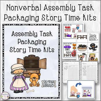 Nonverbal Assembly Task Packaging Story Time Kits