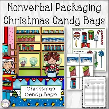 Nonverbal Packaging Christmas Candy Bags