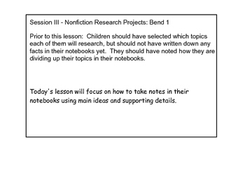 NONFICTION RESEARCH PROJECTS - Reading - COMPLETE - 12 SES