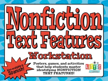 NONFICTION TEXT FEATURES Workstation