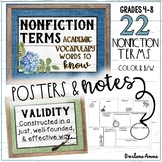 Word Wall Nonfiction Interactive - Farmhouse Style