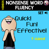 NONSENSE WORD FLUENCY VIDEOS
