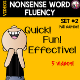 NONSENSE WORD FLUENCY VIDEOS SET 2
