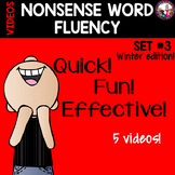 NONSENSE WORD FLUENCY VIDEOS SET 3
