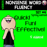 NONSENSE WORD FLUENCY  Set 4