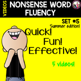 NONSENSE WORD FLUENCY  Set 5