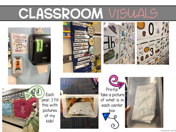 NONVERBALS in the CLASSROOM - With editable options