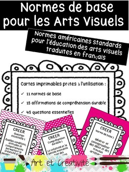 NORMES STANDARDS D'ARTS VISUELS