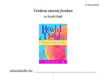 NORSK - Verdens Største Fersken Arbeidshefte (av Roald Dahl)