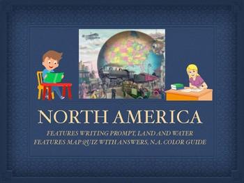 NORTH AMERICA UNIT GEOGRAPHY BUNDLE