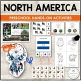 NORTH AMERICA UNIT MONTESSORI EDUCATIONAL RESOURCE PACK