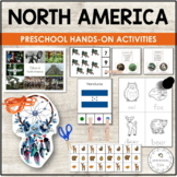 NORTH AMERICA UNIT MONTESSORI EDUCATIONAL RESOURCE PACK