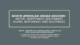 NORTH AMERICAN INDIAN REGIONS
