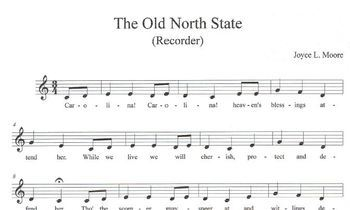NORTH CAROLINA BUNDLE Music Activities, Chimes & Bells arr. THE OLD NORTH STATE